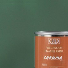 Matt Enamel Fuel-Proof Paint Chroma Dark Green (125ml Tin)