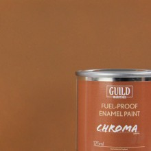 Matt Enamel Fuel-Proof Paint Chroma Dark Earth (125ml Tin)