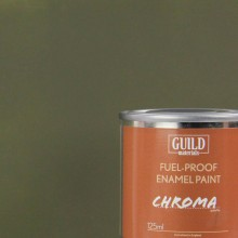 Matt Enamel Fuel-Proof Paint Chroma Olive Drab (125ml Tin)