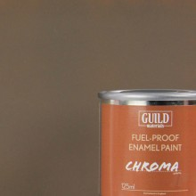 Enamel Fuel-Proof Paint Chroma PC10 Dirty Brown (125ml Tin)