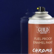 Gloss Enamel Fuel-Proof Paint Chroma Dark Blue (400ml Aerosol) (FL6404)