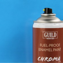 Gloss Enamel Fuel-Proof Paint Chroma Light Blue (400ml Aerosol)  (FL6405)