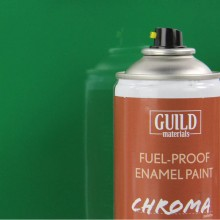 Gloss Enamel Fuel-Proof Paint Chroma Pioneer Green (400ml Aerosol)