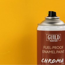 Matt Enamel Fuel-Proof Paint Chroma Cub Yellow (400ml Aerosol) (FL6502)