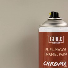 Matt Enamel Fuel-Proof Paint Chroma Light Grey (400ml Aerosol)