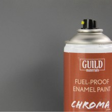 Matt Enamel Fuel-Proof Paint Chroma Dark Grey (400ml Aerosol)