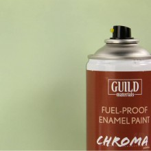 Matt Enamel Fuel-Proof Paint Chroma Duck Egg Blue (400ml Aerosol)  (FL6513)