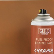 Matt Enamel Fuel-Proof Paint Chroma Dark Earth (400ml Aerosol)