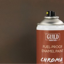 Enamel Fuel-Proof Paint Chroma PC10 Dirty Brown (400ml Aerosol)