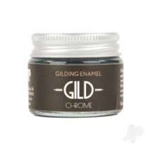GILD Gilding Enamel Paint Chrome (15ml Jar)