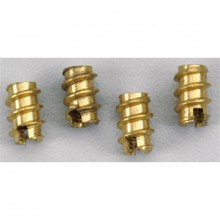 Great Planes Brass Threaded Insert 4-40 4 per pack
