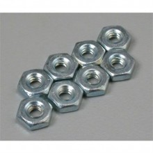 Great Planes Hex Nuts 6-32 8 per pack