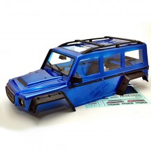 HOBAO DC-1 DC1 PAINTED BLUEBODY WITH ACCESSORIES SET