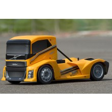 HoBao Hyper Epx 1/10 Cab Truck Roller W/Yellow Body