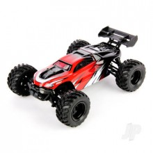 Haiboxing 1:18 RTR Electric 4WD Hailstorm Truggy Red (USB Charger)