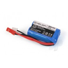 Rivos XS 7.4V 360mAh Li-ion Battery with JST