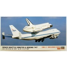 Plastic Kit SMC Hasegawa 10680 Space Shuttle Orbiter & Boeing 747 1/200 Scale Kit