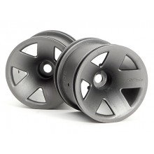 TYPE F5 TRUCK WHEEL (GUN METAL)