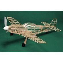 Herr Free Flight Rubber Powered P-51D Mustang 762mm Kit