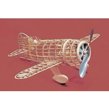 Herr Free Flight Rubber Powered Gee Bee R-2 635mm Kit