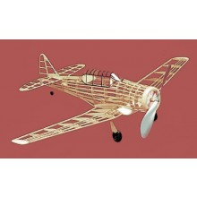 Free Flight Rubber Powered AT-6 Texan 762mm Kit