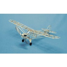 Herr Free Flight Rubber Powered Piper J-3 Cub 457mm Kit