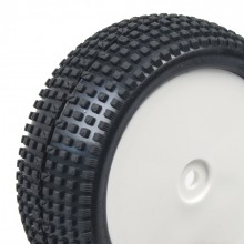 Front Square Pin off road 1/10th pre-mounted tire set (Hobbytech Revolt BX10)