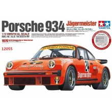 Plastic Kit Tamiya 1/12 Porsche Turbo RSR Type 934 Jagermeister Model Kit 12055