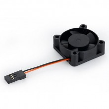 HOBBYWING FAN MP3010SH 5V 10  000RPM 0.16A BLK B XR8/SC8/SCT