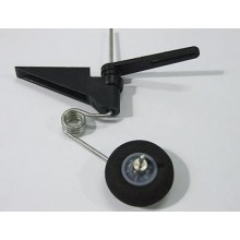 Steerable Tail Wheel Assembly unit inc. 30mm wheel