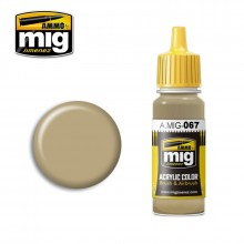 Ammo Mig Jimenez Acrylic 17ml Paint LIGHT SAND GREY