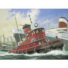 Harbour Tug Boat Plastic Kit