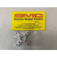 SMC Cross Motor Mount Small 18mm &16mm