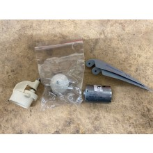 Brushed 380 (400) motor with Gearbox - 3.66 - inc. spinner and folding prop