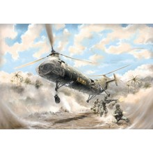 Plastic Kit Italeri 1/48 scale H-21C Shawnee Flying Banana  2733