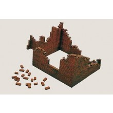 Plastic Kit Italeri BRICK WALLS (1/35 MILITARY)