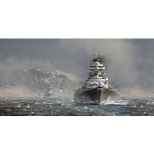 WORLD OF WARSHIPS BISMARCK (1/720 SHIPS)