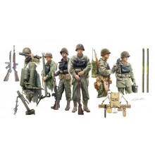 US INFANTRY ON BOARD D DAY (1/35 MILITARY)