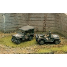 1/72 WILLYS JEEP (1/72 FIGURES)