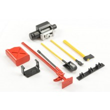 FASTRAX SCALE 6-PIECE TOOL SET RED/YELLOW PAINTED