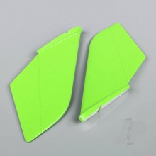 Vertical Fin Set Green (Painted with decal) (F-38)
