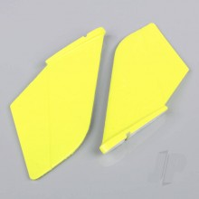 Vertical Fin Set Yellow (Painted with decal) (F-38)