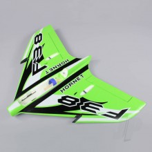 Wing without Canopy Green (Painted with Decal) (F-38)