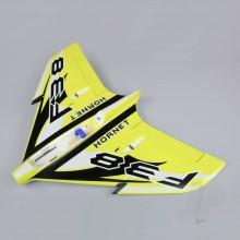 Wing without Canopy Yellow (Painted with Decal) (F-38)