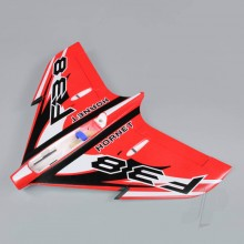 Wing without Canopy Red (Painted with Decal) (F-38)