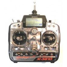 JR X3810 Tx and RX combo with batteries and Charger - 35mhz - NEW SET - BOXED