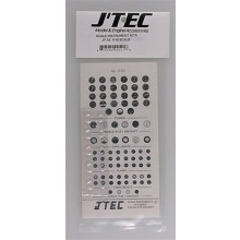 Jtec Color Scale Instrument Kit 1/10 Scale