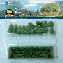 JTT 95584 Boxwood Plant HO-Scale (20 per pack)