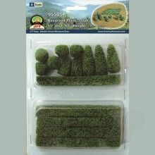JTT 95585 Boxwood Plant O-Scale (15 per pack)