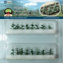 JTT 95586 Tobacco Plants HO-Scale (16 per pack)